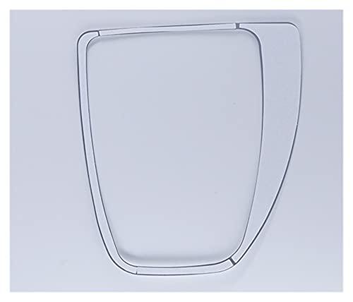 Accesorios de Interior para B-MW E60 Panel De Cambio De Marchas De Freno De Mano Central Pegatina De Cubierta Decorativa Embellecedor Interior Accesorios para Automóviles