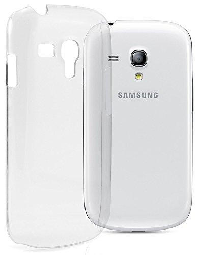 itronik Hülle kompatibel mit Samsung Galaxy S3 Mini i8190 Ultra Slim Crystal Hülle Schutzhülle Hülle Hart Hülle Cover Tasche