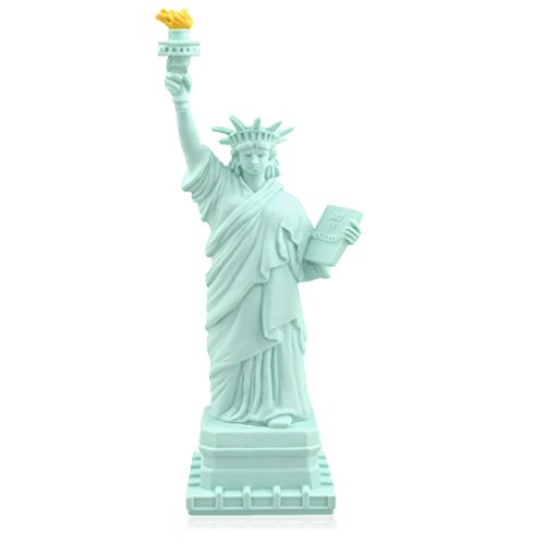 818-Shop No7100080032 Hi-Speed 2.0 USB-Sticks 32GB Freiheitsstatue Lady Liberty 3D blau