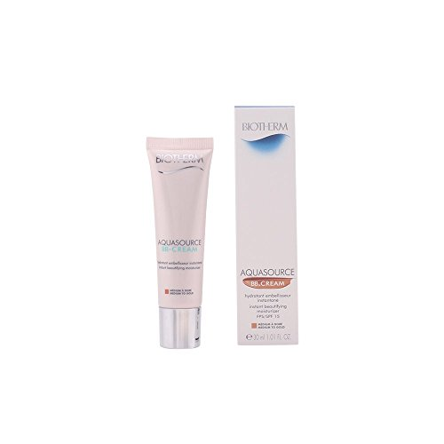 Biotherm Aquasource BB Cream Instant Beautifying Moisturizer SPF 15 30ml - Tint : Medium to Gold