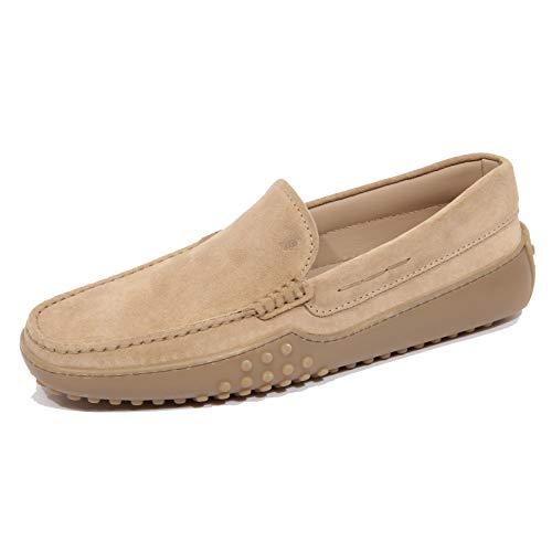 Tod's G1160 Mocassino Uomo Pantofola 24C Beige Suede Loafer Men [8.5]