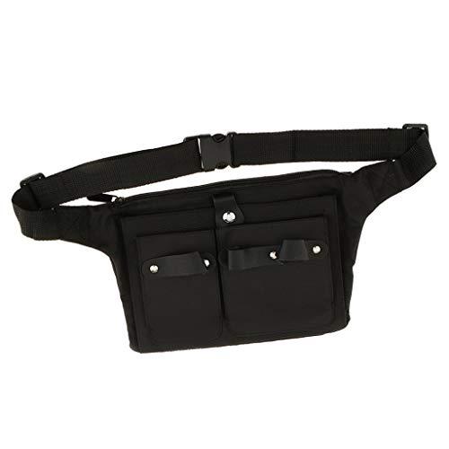 Inzopo Estuche de lona para cinturón de peluquería profesional, con múltiples bolsillos,...