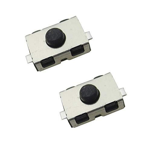 Pack 2 Switch Pulsador Interruptor para Mando Distancia Citroen Peugeot Nissan Opel Toyota Botón Micro Interruptor Reparación Llave Coche | ECOPRINTING |