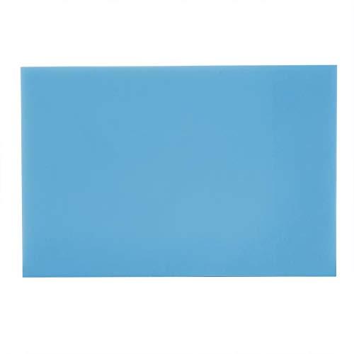 Akozon Sello de Goma, Material de Caucho Grabado (Azul)