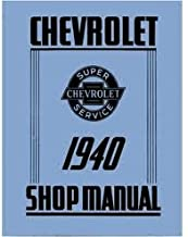 1940 Chevrolet Chevy Car Truck Shop Service Repair Manual 40 (with Decal)