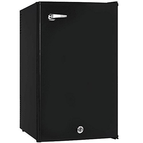 Syntrox Germany 70 Liter A Hotelkühlschrank Minibar Minikühlschrank geräuscharm mit Retro Griff