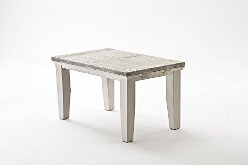 Beauty.Scouts Esstisch Mon Monde I ausziehbar, Tisch, Küchentisch, Antikes Design, Used Look, recyceltes Kiefernholz, 140/180x79x90cm
