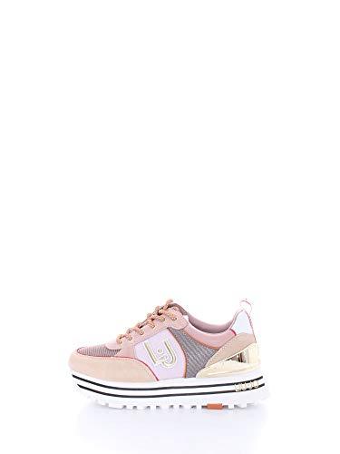 Liu Jo Maxi Wonder 20 Sneaker Running Logo Conquille BA1063PX139