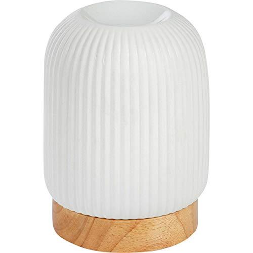 ONVAYA® Duftlampe | Elektrisch | Farbe: Creme weiß | Aroma Diffuser | Aromalampe | Duftstövchen | Modernes Duftlicht (Tommy)