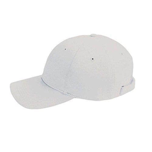 Zeus Casquette de baseball de golf en coton unisexe, Blanc. (Blanc) - CAP GOLF WHITE