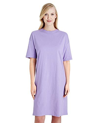 Hanes Women's Wear Around Nightshirt, Lavender, One Size
