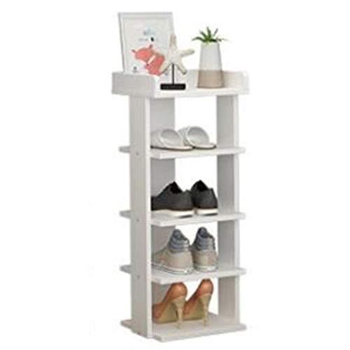 MAOZHE Schuhschrank Schuhregal, mehrschichtige einfache Rack Montage Storage Rack Tür Schuhschrank Schuh Regal Tellerhalter Flur Schrank Veranstalter