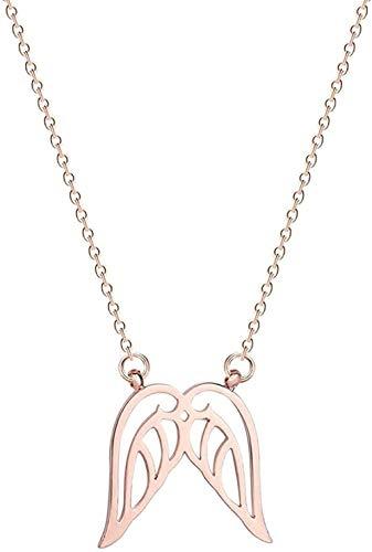 NC190 Collar de Acero Inoxidable con Fase Lunar, joyería de Galaxia para Mujer, Colgante de Esmalte Lunar con Estrella fugaz, Collar de Oro, Regalo