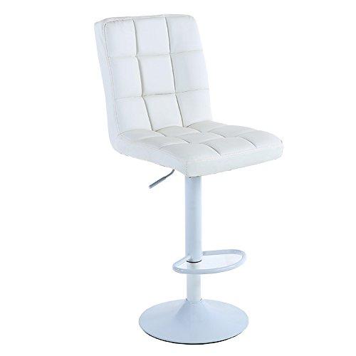 QARYYQ IJzeren optrekdraaistoel/eenvoudige hoge kruk/kassa kruk/schoonheid make-up stoel barkruk