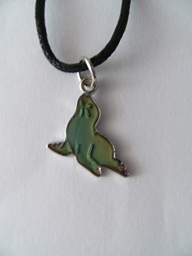 Cornelißen Stimmungskette Robbe, Kette Anhänger Modeschmuck Ketten Geschenke Schmuck, Seehunde Robben