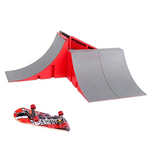 Mini-Finger-Skateboard und Ramp-Zubehör Set Finger Ultimative Parks