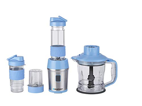 Blaupunkt TBP601BL Batidora de Vaso Personal, 700 W, 0.6 litros, Polímero Libre de BPA, Azul