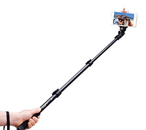 zipaishenqi Yunteng Bluetooth Telecomando Cellulare Selfie Stick Controllo Linea Universale dal palo della Carta Foto autoscatto artefatto Bastone Auto-barriera