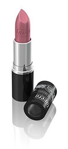 lavera Lippenstift Beautiful Lips Colour Intense ∙ Farbe Caramel Glam ∙ zart & cremig ∙ Natural & innovative Make up ✔ Bio Pflanzenwirkstoffe ∙ Lipstick ∙ Naturkosmetik 1er Pack (1 x 5 g)