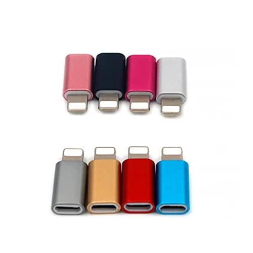 5 x Micro USB al Adaptador OTG Convertidores de Android para Compatible con iPhone Cargador de Transmisión Conector para Tableta del teléfono Celular y Cable USB Superior Producto