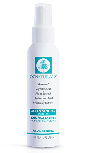 OZNaturals Facial Toner- This Natural Skin Toner Contains Vitamin C, Glycolic Acid & Witch Hazel -...