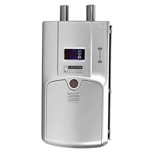 Tomanbery Cerradura Duradera para Interiores Cerradura electrónica antirrobo Bluetooth Cerradura Oculta Cerradura de Seguridad para Apartamentos para el hogar