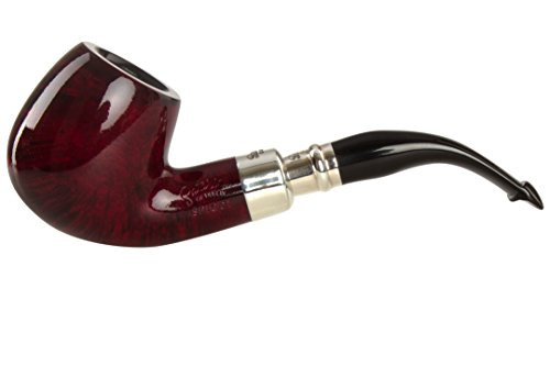 Peterson Spigot Red Spray 68 Smooth Tobacco Pipe PLIP