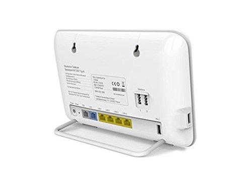 "Telekom Speedport W724V VDSL/ADSL<br>Stiftung Warentest GUT (2,1) (08/2014)<br>""Green Product"" vom TÜV Rheinland"