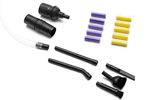 Premium 32mm/35mm Mini Staubsaugerdüsen Set PC Aufsatz inkl. Staubsauger Staubsaugerdeos für für Kärcher, Miele, Siemens, Samsung, AEG, Bosch, Panasonic, Philips