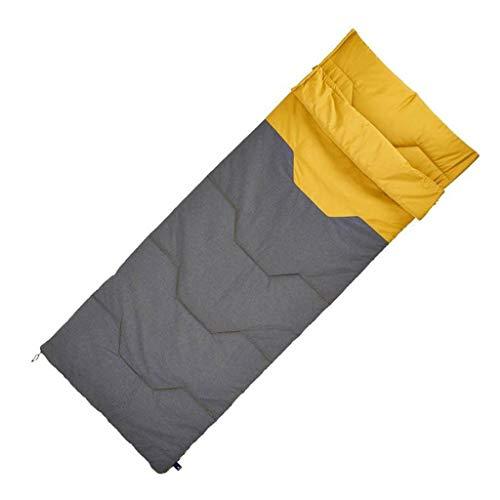SSG Home Durable et Beau Sac de Couchage Outdoor Voyage Camping Coton Tissu épais Chaud Adulte Voyage intérieur Respirant Portable Simple Confortable et Portable (Color : E)