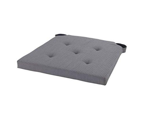 Ikea Justina Gray Chair Cushion Pad, Woven with Yarn , Reversible