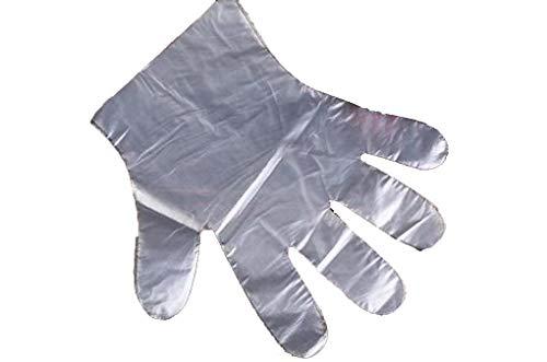 Wegwerphandschoenen voor kinderen 100 paar voedsel catering studenten kinderen individueel verpakt PE beschermende handschoenen