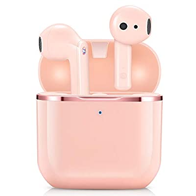 Wireless Earbuds, yobola Wireless Headphones, IPX5 Waterproof Wireless Earphones Touch Control, Bluetooth 5.1 Earbuds, 25 Hrs with USB-C Charging with Running
