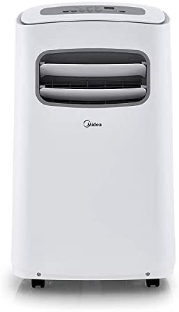 MIDEA MAP10S1CWT 3 in 1 Portable Air Conditioner Dehumidifier Fan for Rooms up to 200 sq ft product image