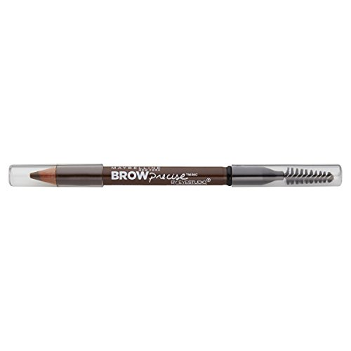 Maybelline New York Brow Precise Shaping Eyebrow Pencil, Soft Brown, 0.02 oz.