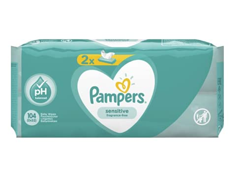 Pampers 81687189 - Sensitive toallitas húmedas para bebé, unisex