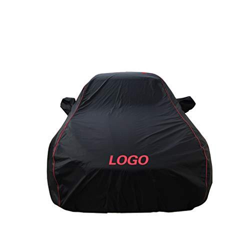 XXchin Couverture de Voiture Toyota Couverture de Voiture imperméable Protection UV Tous Temps Neige Poussière Pluie Coupe-Vent Vêtements de Voiture d'extérieur Fit Fit Prius (Taille : -Sienta)