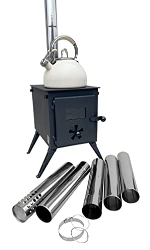 Tragbarer Camping-Holzofen Outbacker 'Firebox'