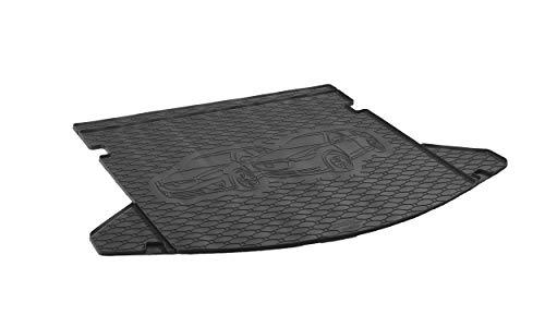 Passgenau Kofferraumwanne geeignet für Mazda CX-5 ab 2012 ideal angepasst schwarz Kofferraummatte + Gurtschoner