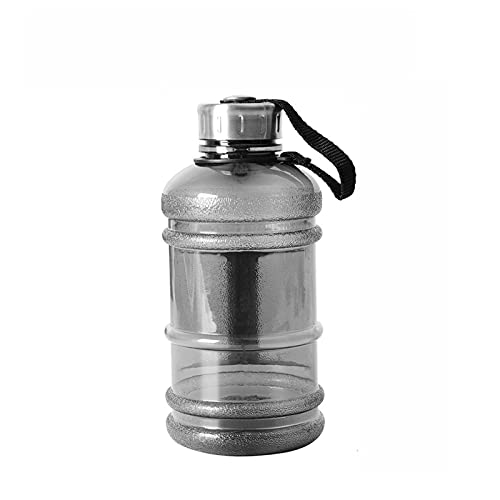 MCYAW Capacidad Grande Botella de Agua 1L / 1.5L / 2.2L Botella de coctelera con Mango Al Aire Libre Fitness Running Gimnasio Entrenamiento Plástico Deportes Botellas (Color : 1000ml)