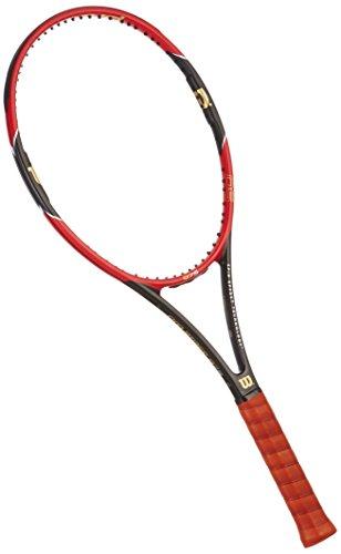 Wilson PRO Staff 97 S Tns Frm W/O Cvr 4 Racchetta, Rosso/Nero (Rosso/Metallic Black)