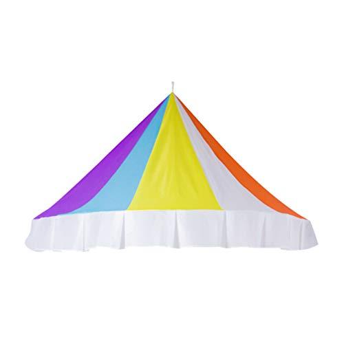 Vosarea Regenbogen Betthimmel halbrunde Kuppel Leseecke Zelt dekorative Moskitonetz für Kleinkinder -1 2 m