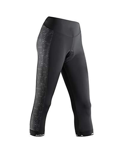 Altura Peloton Collant 3/4 Progel pour Femme Noir Taille 10