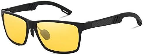KINGSEVEN Fashion Polarized HD Night vision Sunglasses Men s Square Sunglasses product image