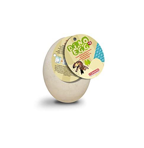 Comansi Dino Egg. Huevo Sorpresa. Experimenta el Nacimiento de tu Dinosaurio. 4 Dinosaurios Diferentes para coleccionar (se Venden por Separado) C18965