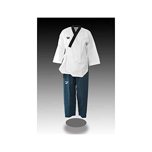 Dorawon, Dobok Poomsae Bordado Dan Lady Talla 160 cm, Cuello Y Navy