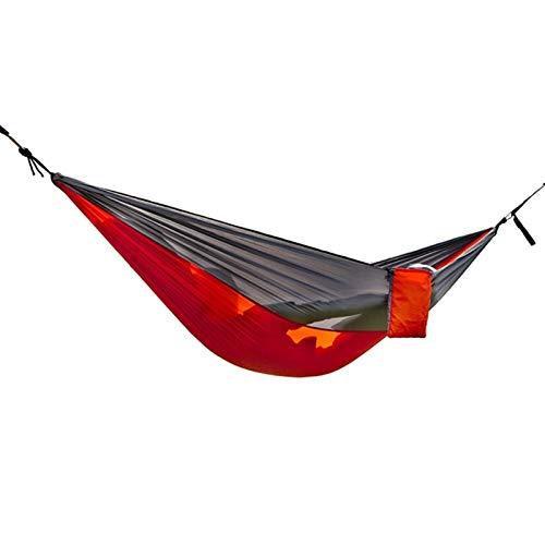 CPH20 Hamaca de camping ligera de nylon hamaca portátil de playa para patio al aire libre jardín patio trasero viajes