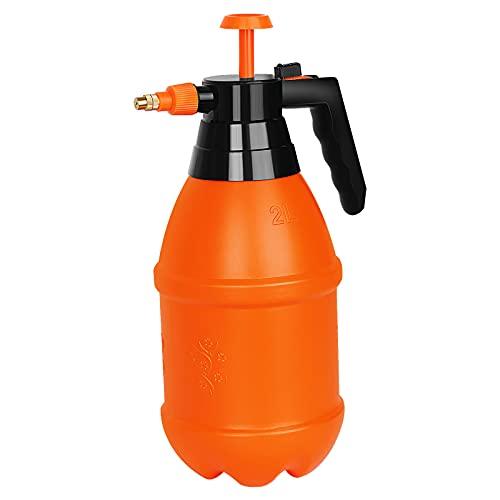 Avenoir Adjustable Garden Sprayer, Lawn Pump Sprayer for Plants, Cleaning Solution and Car Wash (0.52Gal, Orange)