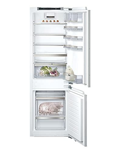 Siemens KI86NADF0 iQ500 Einbau-Kühlgefrierkombination / F / 277 kWh/Jahr / 254 l / noFrost / hyperFresh Plus / LED Beleuchtung