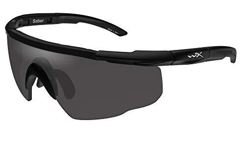 Airsoft Wiley X Saber Advanced Smoke Grey Matte Black Frame